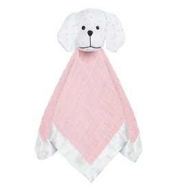 aden + anais aden + anais Classic Muslin Lovey - Mini Hearts Puppy