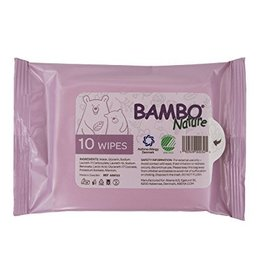 Bambo Nature Bambo Nature Tidy Bottom Wipes - Tiny Travel 10pk