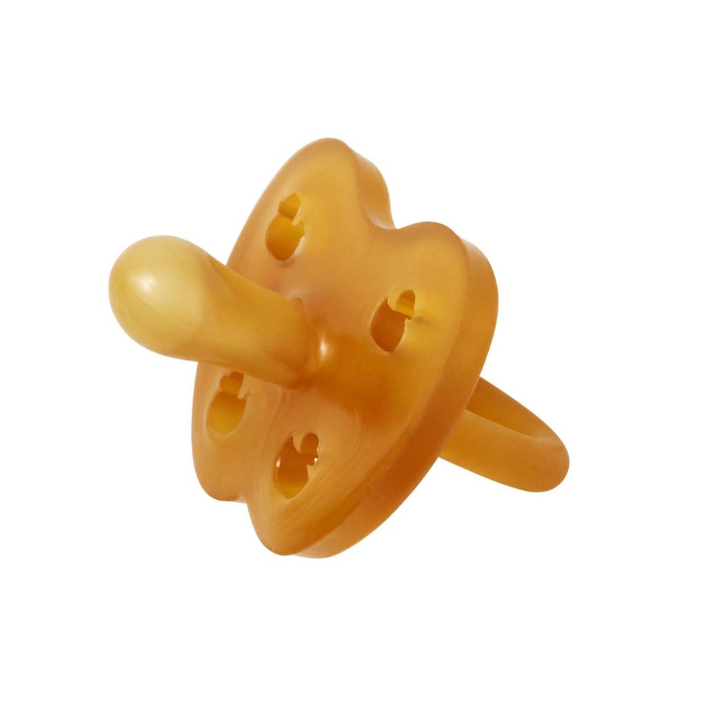Hevea Hevea Symmetrical Natural Rubber Pacifier - Duck