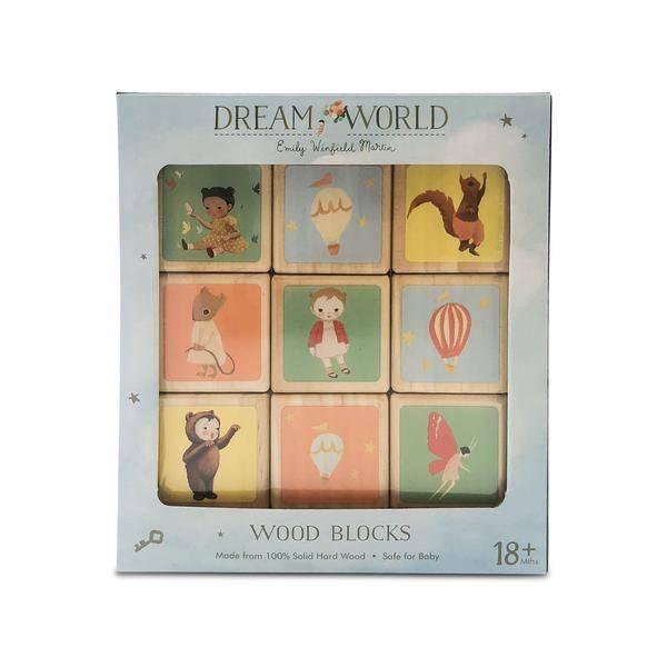 Finn + Emma Finn+Emma Wood Blocks - Dream World
