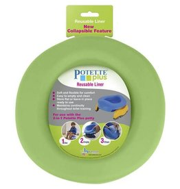 Potette Plus Potette at Home - Reusable Liner (Green)
