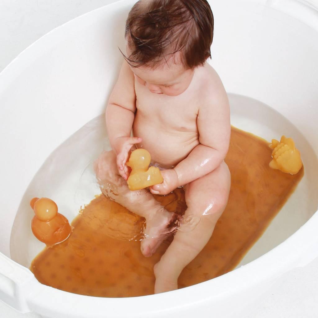 Hevea Hevea Pond Bath Toys - Natural Rubber Giftset