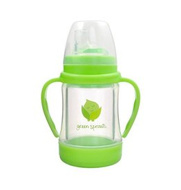 Green Sprouts Green Sprouts Glass Sip & Straw Cup