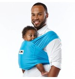 Baby K'Tan Baby K'Tan Baby Carrier Active- Ocean Blue