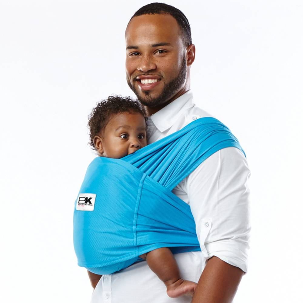 Baby K Tan Baby Carrier Active Ocean Blue Zukababy