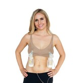 Simple Wishes Supermom All-In-One Nursing/Pumping Bra Nude
