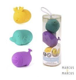 Marcus & Marcus Silicone Bath Toys Set of 3