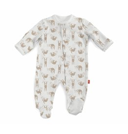 Magnetic Me Magnetic Me Organic Cotton Footie - Silly Sloth