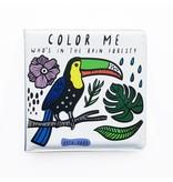 Books Color Me: Who's in the Rainforest Bath Book