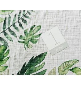 little unicorn little unicorn Photo Blanket- Tropical Leaf
