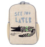 SoYoung Wee Gallery Alligator Backpack