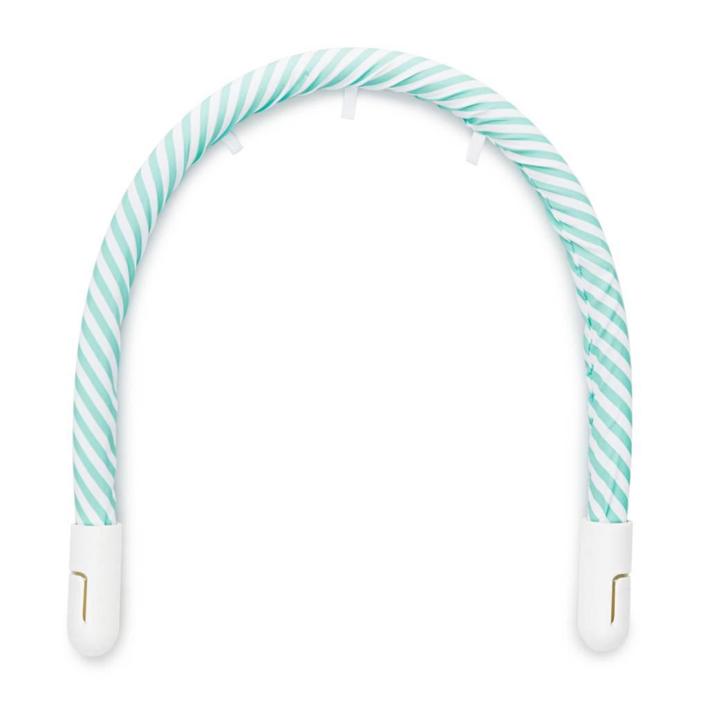 DockATot DockATot Toy Bar Aqua/White Stripe