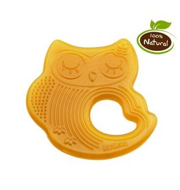 Haakaa Haakaa Natural Rubber Teether- Sleeping Owl