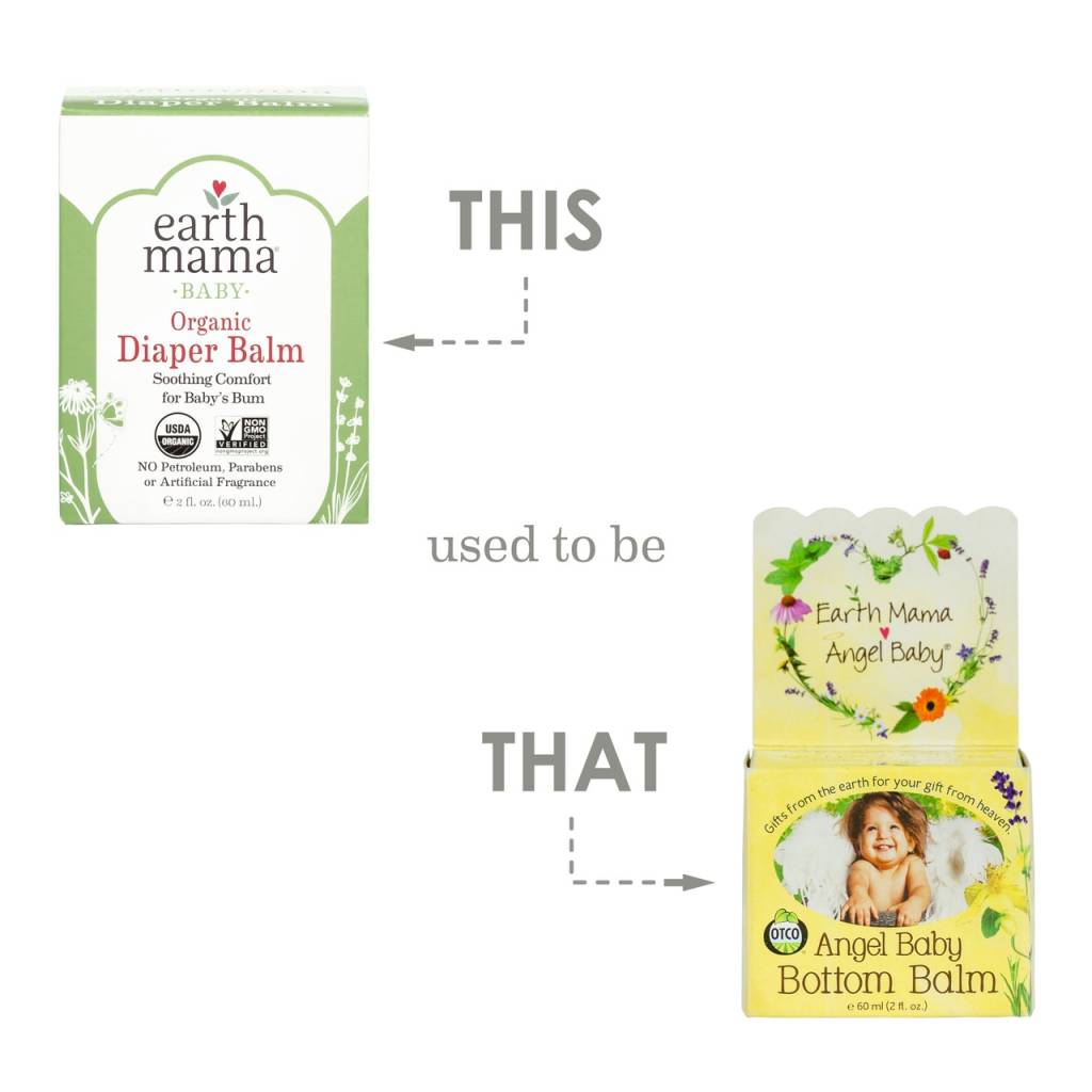 Earth Mama Angel Baby Earth Mama Organics Diaper Balm 2 oz
