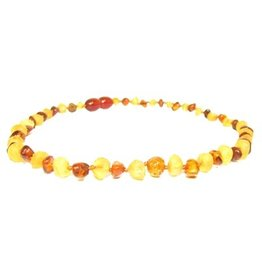 The Amber Monkey The Amber Monkey Amber Teething Necklace - Pop Clasp - Multicolor