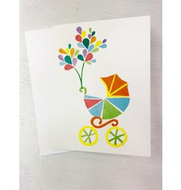 Megan Jewel Designs Welcome Baby Card - Local & Handmade