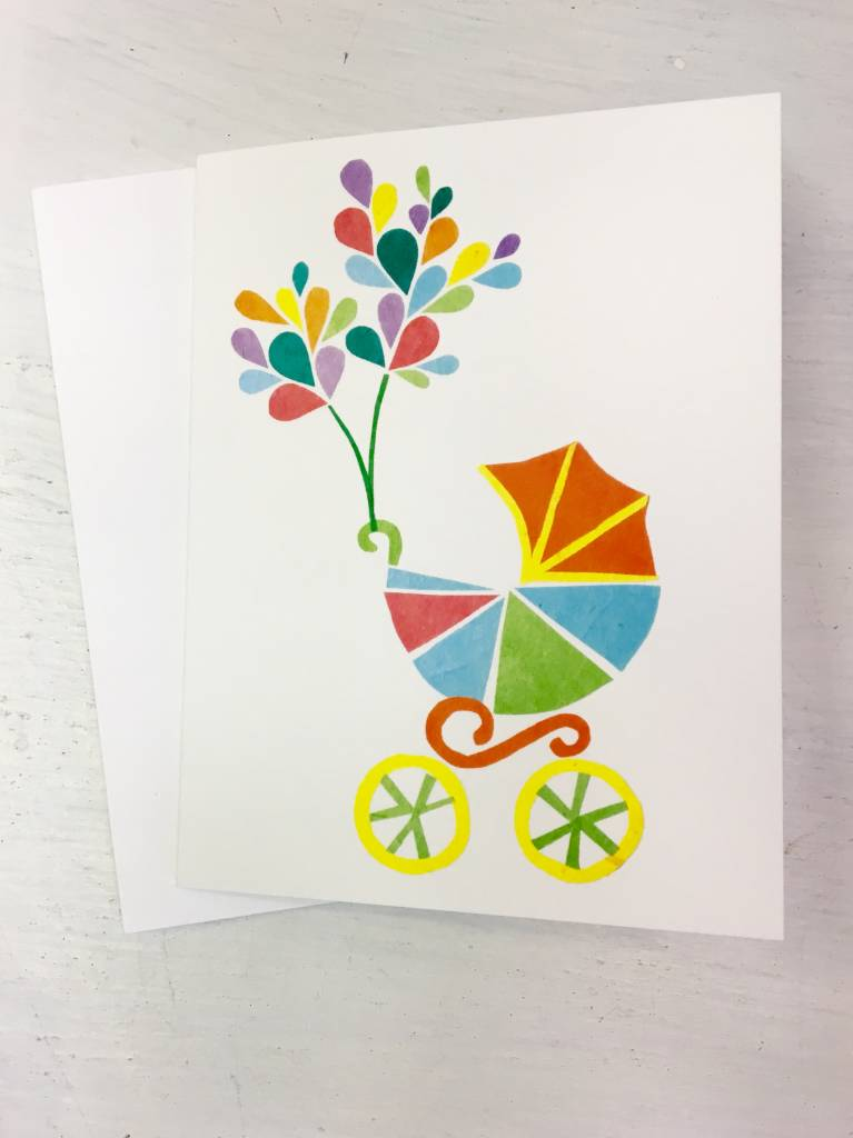 Welcome Baby Card - Local & Handmade - ZukaBaby