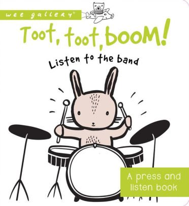 Books Toot, Toot Boom Board Book