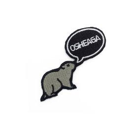 Osheaga Patch marmotte Osheaga
