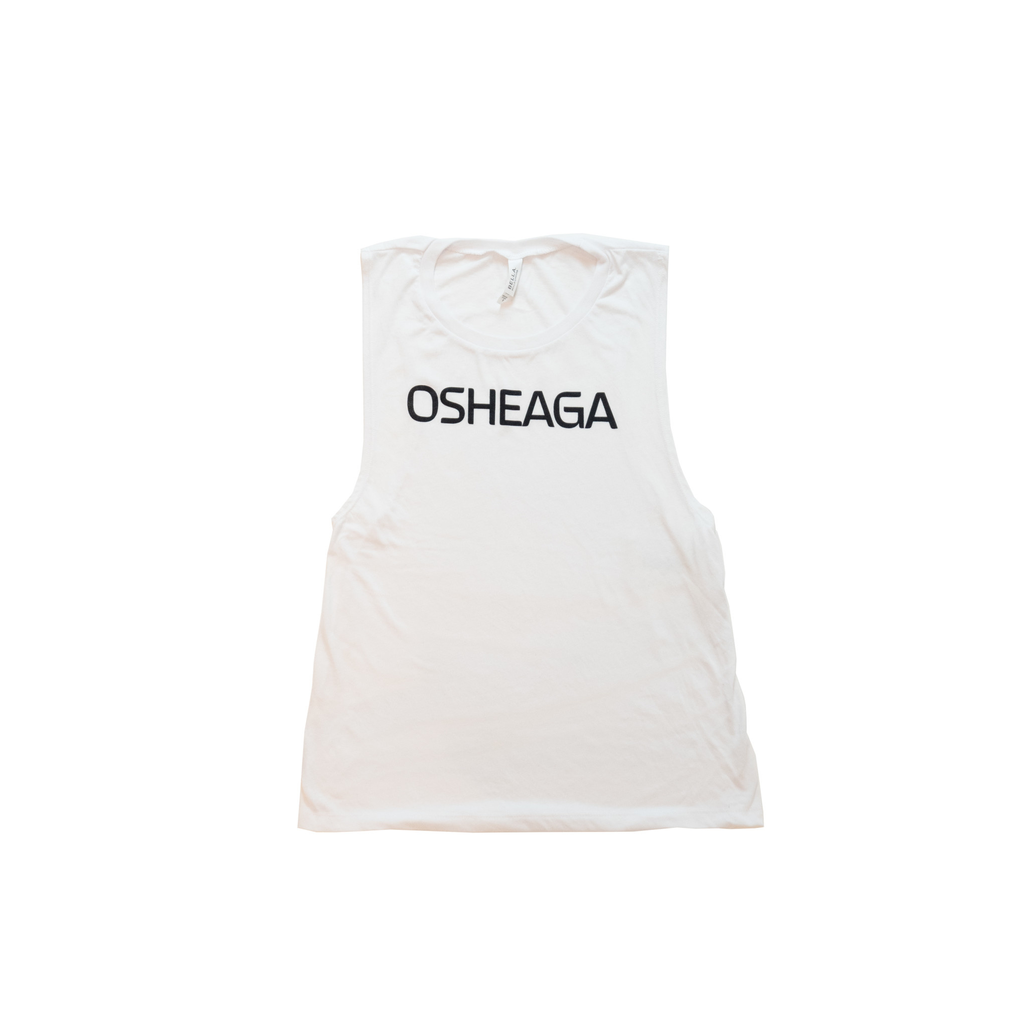 Osheaga Camisole Femme Musique et Art Blanche