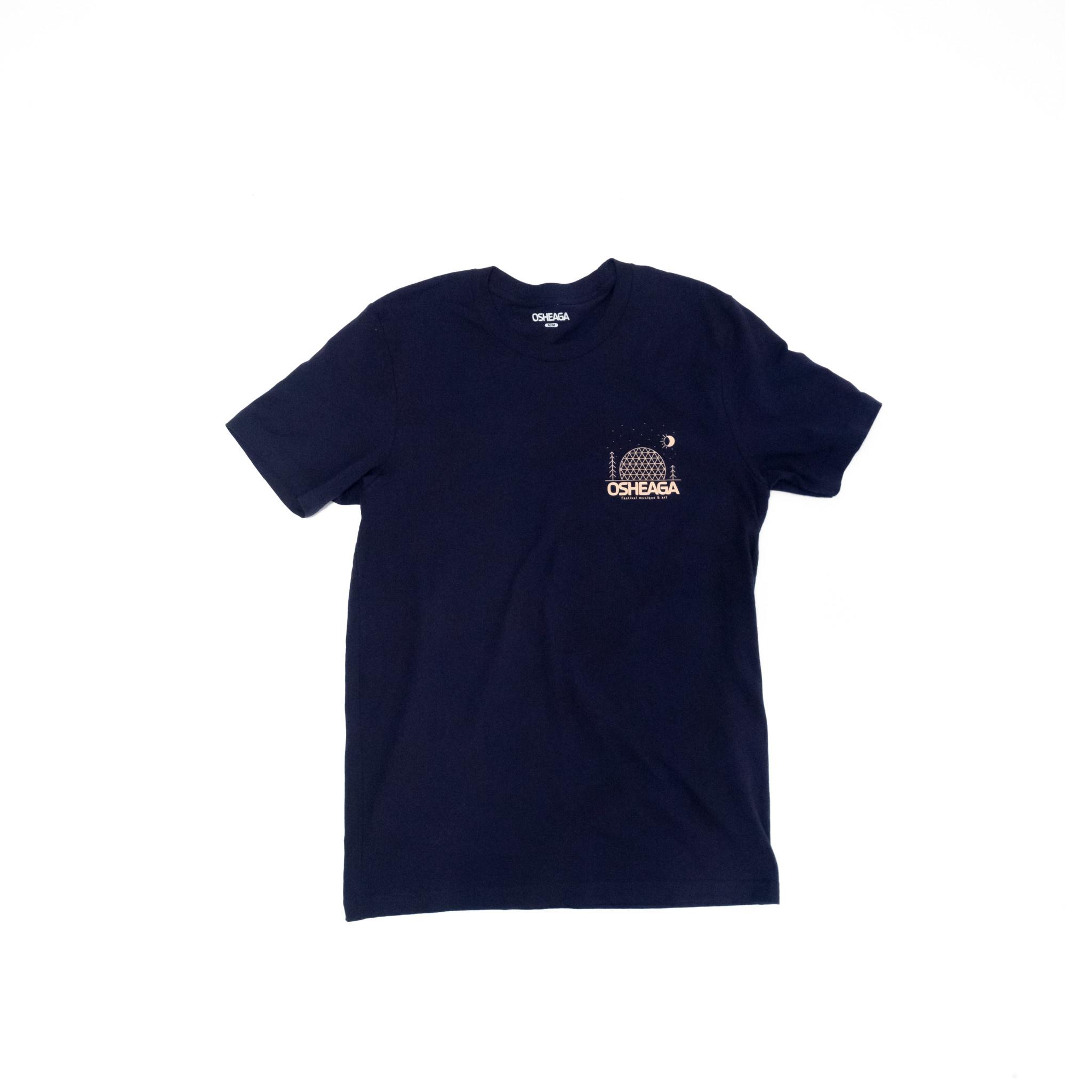 Osheaga T-Shirt Unisexe Logo Dôme