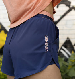 Shorts de course bleu patriote & corail