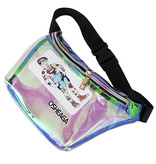 Transparent Osheaga Fanny Pack with Stickers