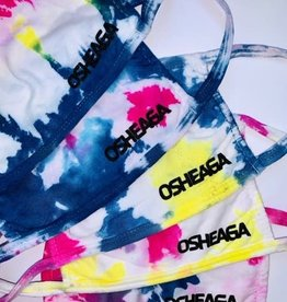 Masque tie-dye multiple couleurs