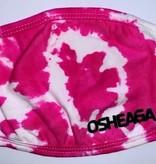 Masque tie-dye rose