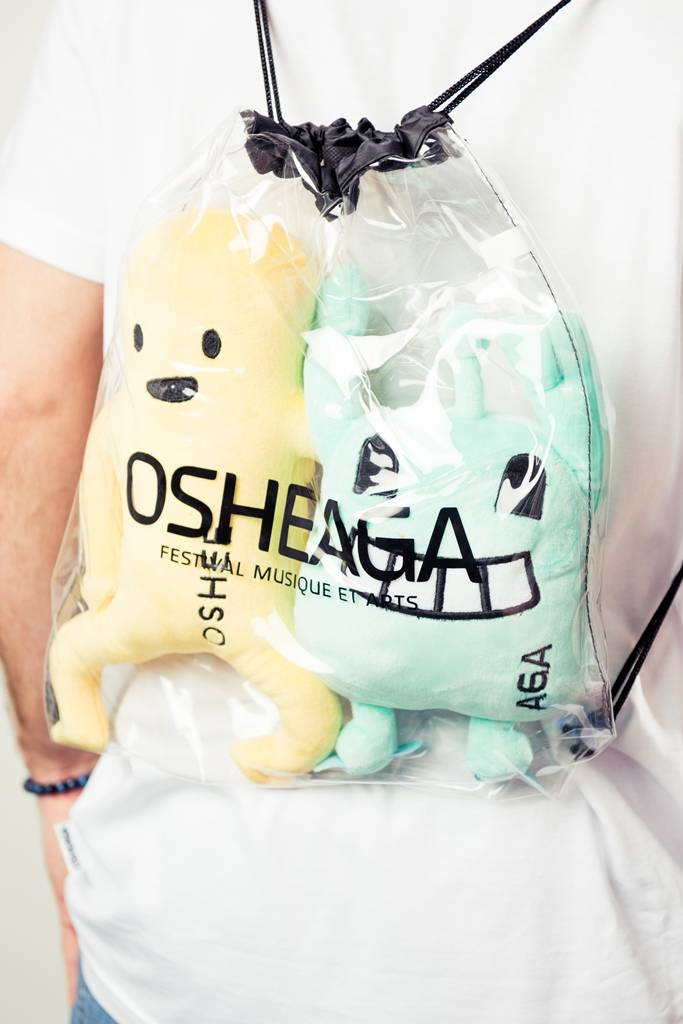 Osheaga OSHEE + AGA PLUSH