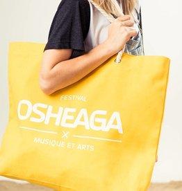 Osheaga Sac de plage jaune
