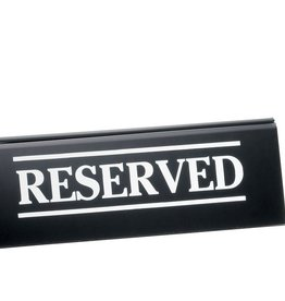 "Tablecraft ""RESERVED"" Sign"