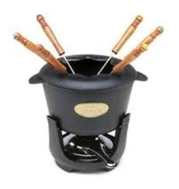 Norpro Fondue Set, Cast Iron, 10 pcs