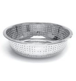 """Thunder Group Chinese Colander, 13"""" Dia, 4.5mm Holes"""