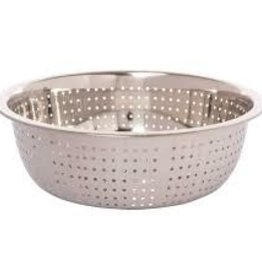 """Thunder Group Chinese Colander, 11"""" Dia, 2.0mm Holes"""