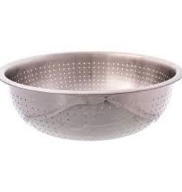 """Thunder Group Chinese Colander, 15"""" Dia, 2.0mm Holes"""