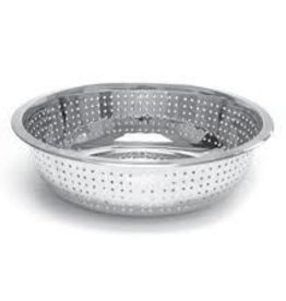 """Thunder Group Chinese Colander, 13"""" Dia, 2.0mm Holes"""