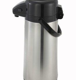 Winco Airpot w/Push Button, 3 Liter