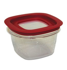 "Rubbermaid Food Storage Container, 5-1/16"" x 3-3/8"" Deep"