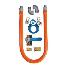 "BK Resources Gas Hose Disconnect Kit, 48"" Long"