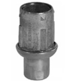 "BK Resources Bullet Foot, S/S, 1-5/8"" Dia"