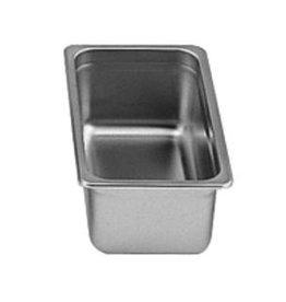 "Thunder Group Steam Table Pan, S/S, 1/3 Size, 4"" Deep"