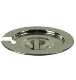 Thunder Group Inset Pan Cover, S/S, Slotted, 7 Qt