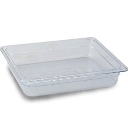 "Thunder Group Food Pan, 1/2 Size, 2.5"" Deep"