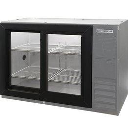 """Beverage Air Pass-Thru Backbar Refrigerator, 38""""x34"""", Sliding Glass Doors"""