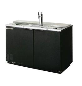 """Beverage Air Draft Beer Cooler, Club Type, 50.5""""W, 28-1/8""""D, 19.8 cu.ft."""