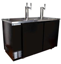 "Beverage Air Draft Beer Cooler, 59""W, 28-1/8""D, 23.8 cu.ft."
