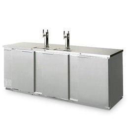"Beverage Air Draft Beer Cooler, 79""W, 28-1/8""D, 34.2 cu.ft."