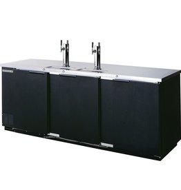 "Beverage Air Draft Beer Cooler, 95""W, 28-1/8""D, 39.7 cu.ft."