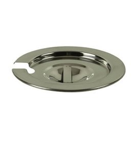 Thunder Group Inset Pan Cover, S/S, Slotted, 4 Qt